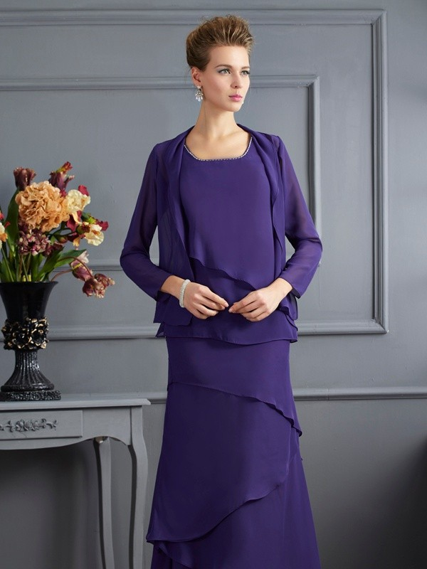 Chic Chiffon Long Sleeves Special Occasion Wrap