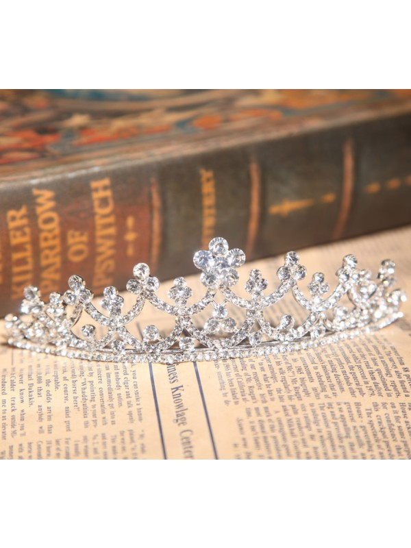 Beautiful Alloy Czech Wedding Headpiece
