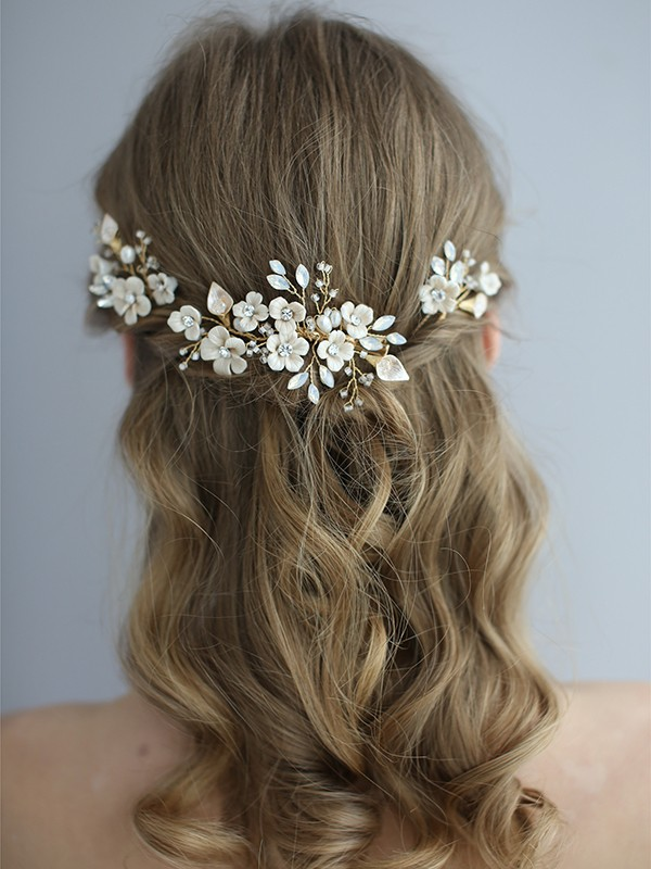 Chic Simple Ceramic Headpiece