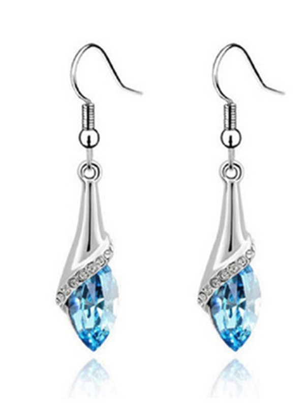New Hot Sale Alloy With Crystal Earrings