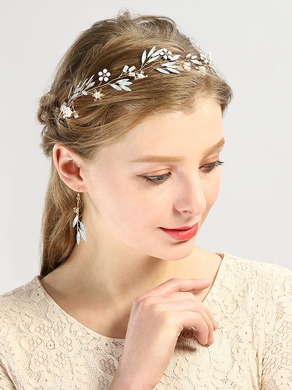 Elegant Glass Headpiece