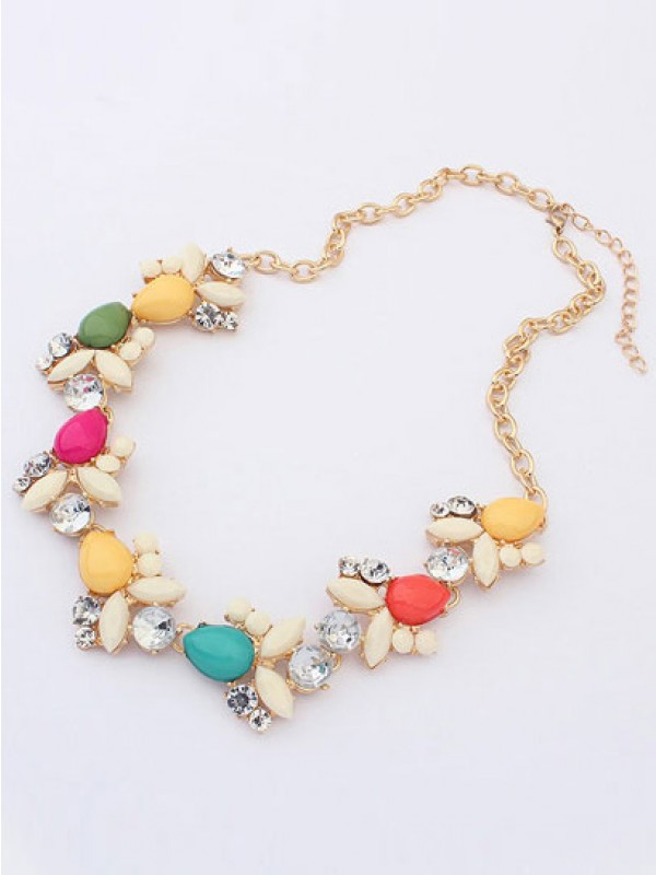 Stylish Occident Fresh Style Sweet Necklace