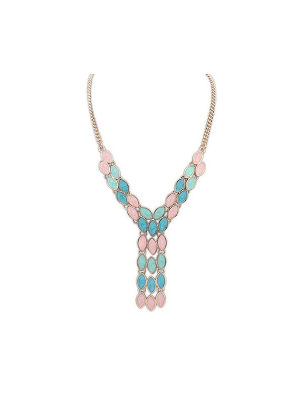 Gorgeous Occident Bohemia Tassels Necklace