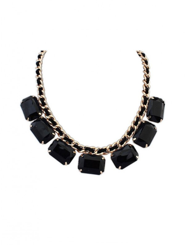 Gorgeous Occident Blocks All-match New Necklace