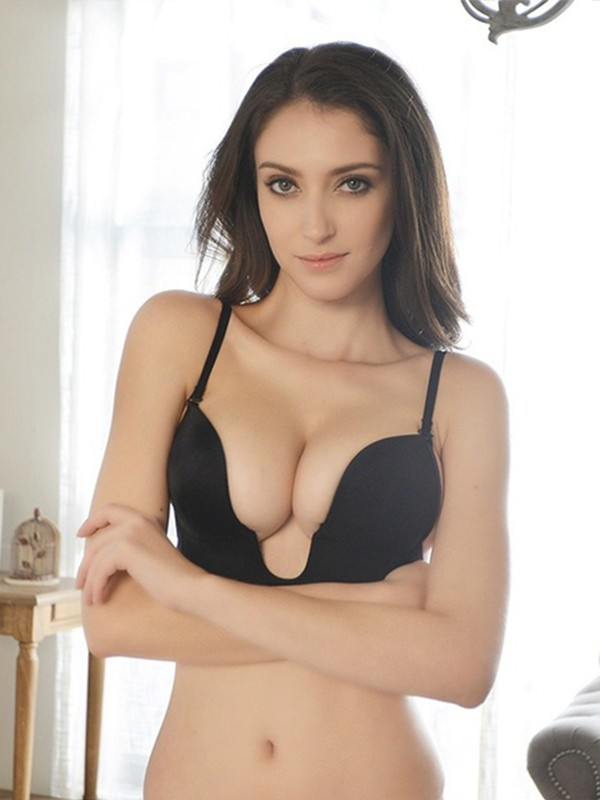 Exquisite Cotton Strapless Invisible Bra
