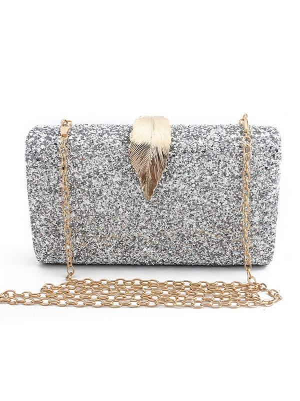 New Synthetic Leather Evening/Party Handbag